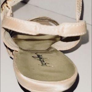 c14bd1f0f215b Jacqueline Ferrar Shoes - Ladies Jacqueline Ferrar 7.5 satin strap heels.